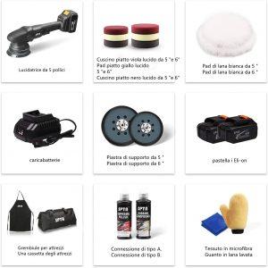 Pack polisseuse sans fil
